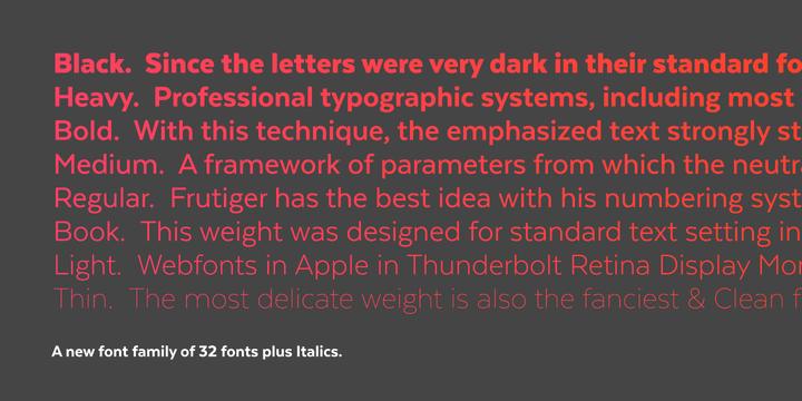 Texta Font Family