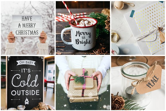 Winter Font Bundle