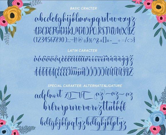 Xandrella Script Font
