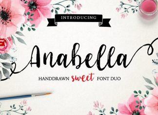 Anabella Script Font