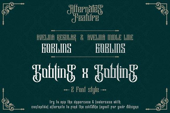 Avelina Font+ Extras