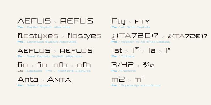 Bunken Tech Sans Wide Font Family