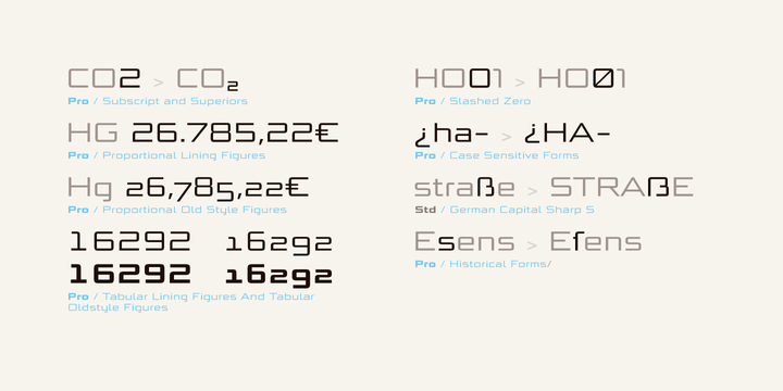 Bunken Tech Sans Wide Font Family