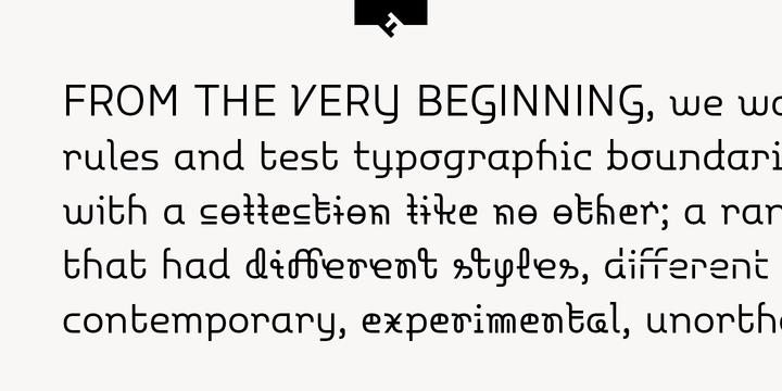 FF Polymorph Font Family