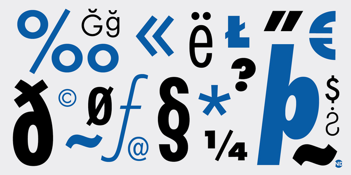 Futura ND Font Family