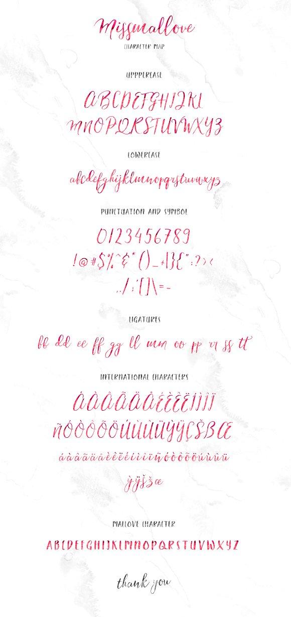Its Tasty Missmallove Font Duo