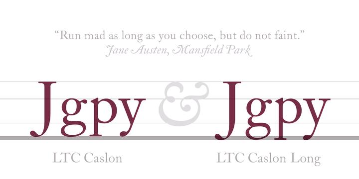 LTC Caslon Font Family - iFonts xyz
