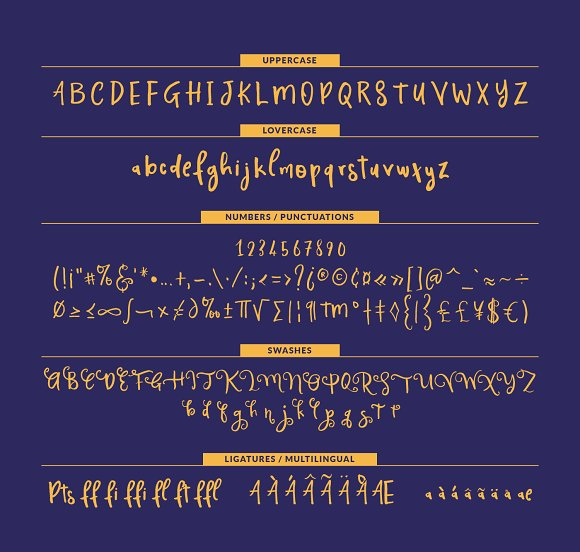 Magnificent Display Font