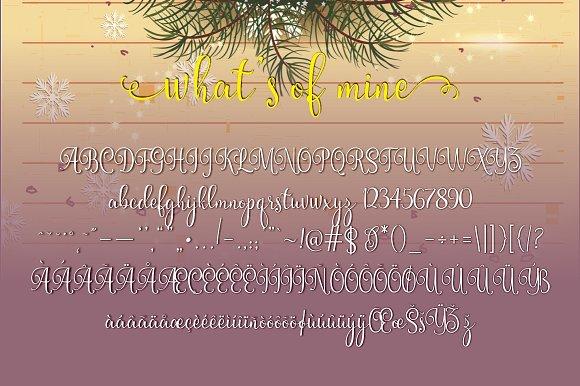 Mischa Script Font
