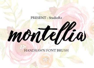 Montellia Brush Font