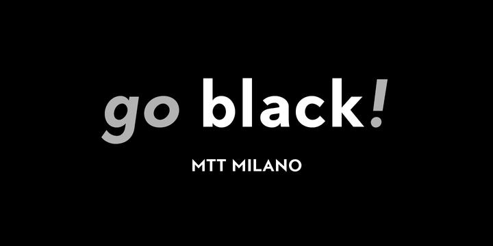 MTT Milano Font Family