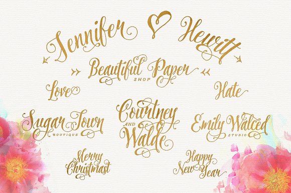 fancy calligraphy letter i