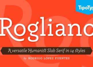 Rogliano Family font
