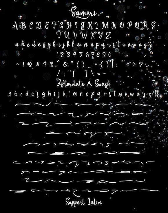 Sameri Brush Font