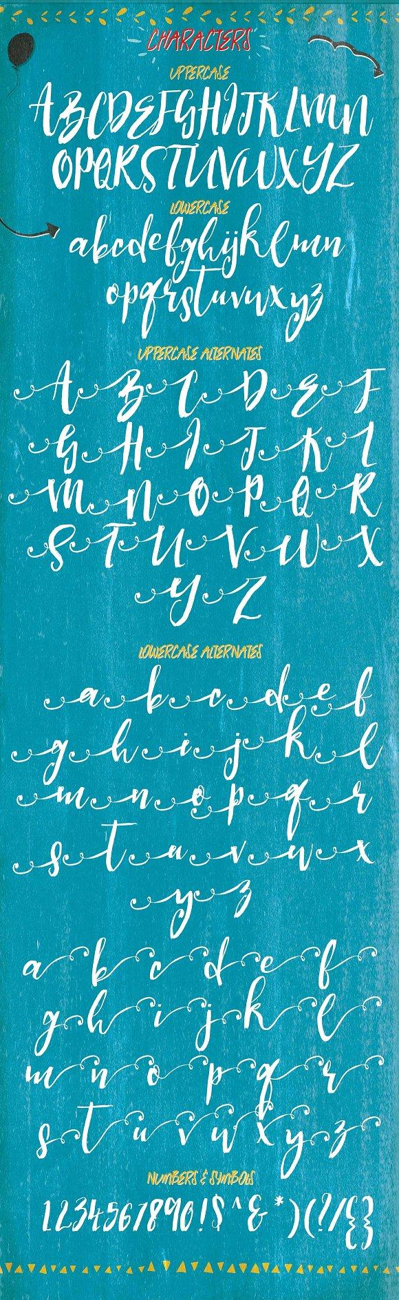 Sorrella Script Font