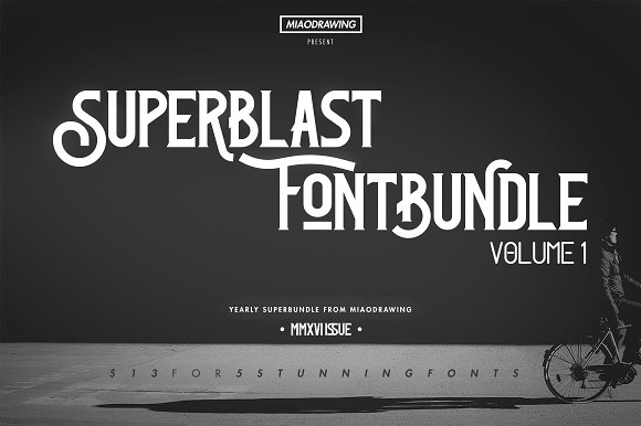 Superblast Fontbundle Vol. 1