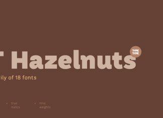 TT Hazelnuts Font Family