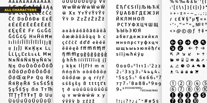 XXII Centar Font Family