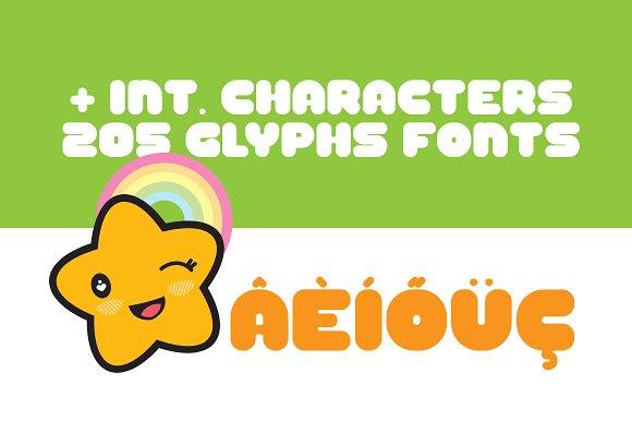 Yeyey Kawaii Typeface