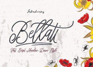 Bellati Script Font