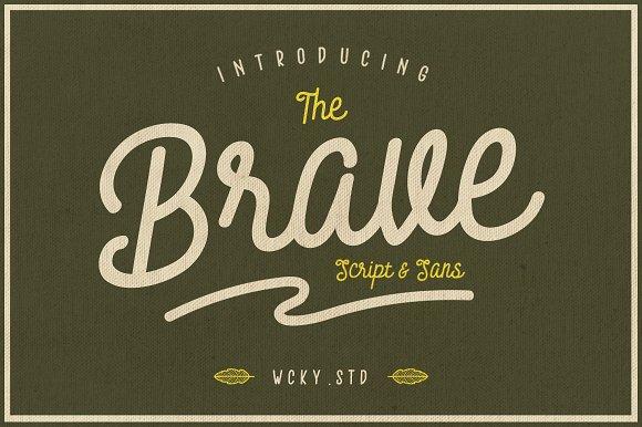 Brave Typeface Ifontsxyz