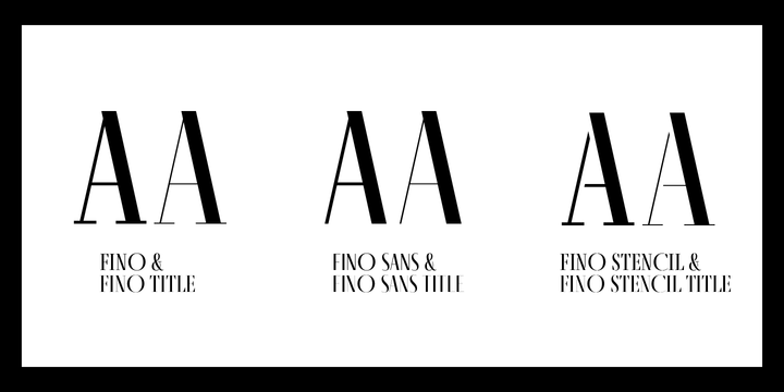Fino Font Family