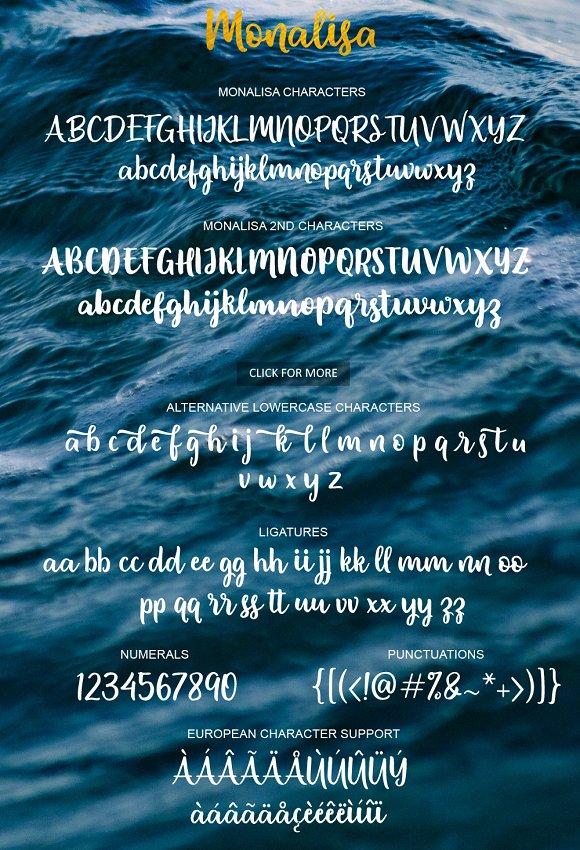 Monalisa Script Font
