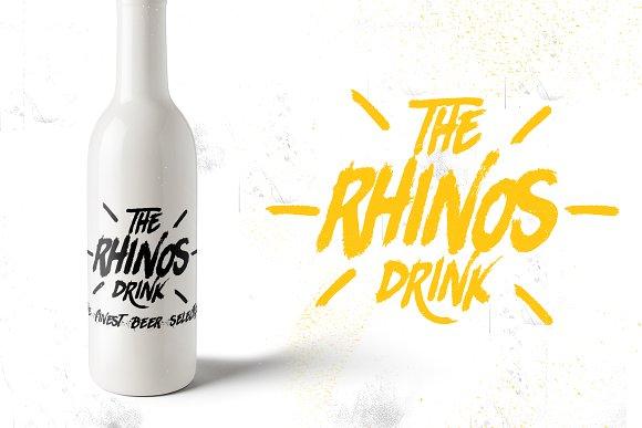 Rhinos Rocks +Swashes