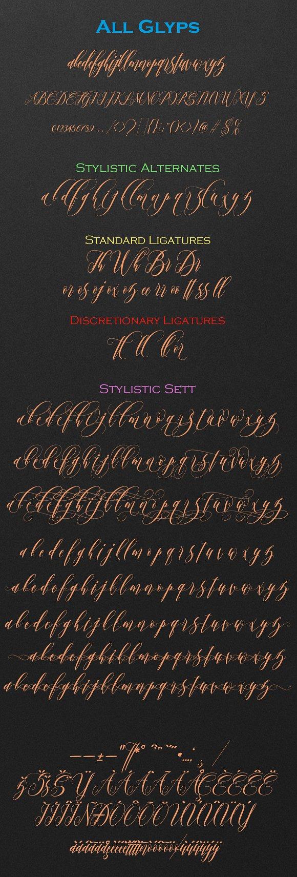 Twetter Script Font