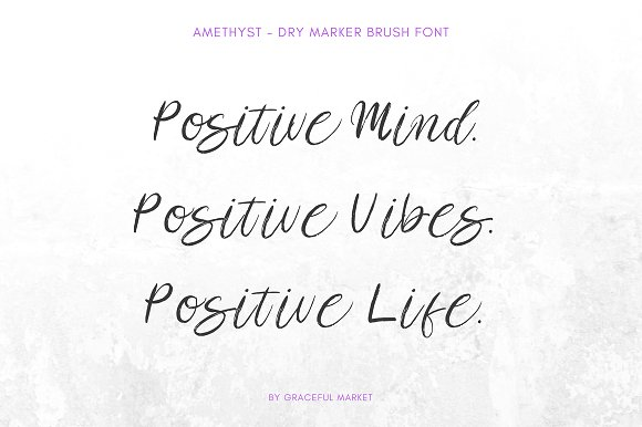 Amethyst Script Brush Font