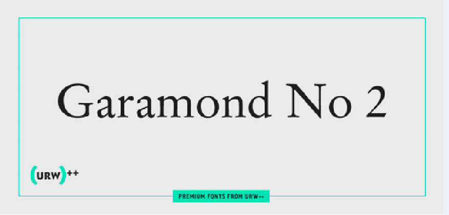 Garamond No 2 Font Family - iFonts xyz