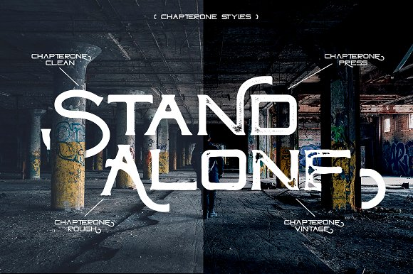 ChapterOne - 4 Font Styles+Extras