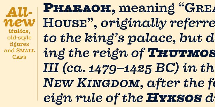 Farao Font Family