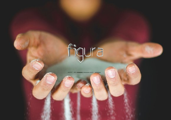 Figura, a modern font