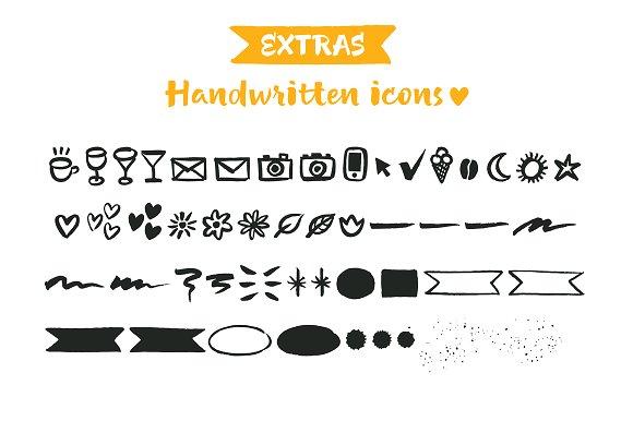 Luna Brush Script + Extras