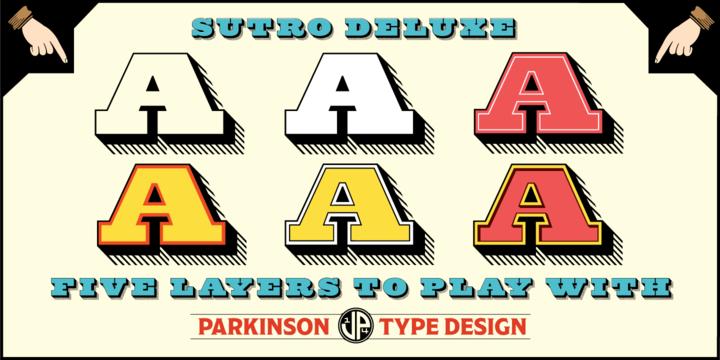 Sutro Deluxe Font Family