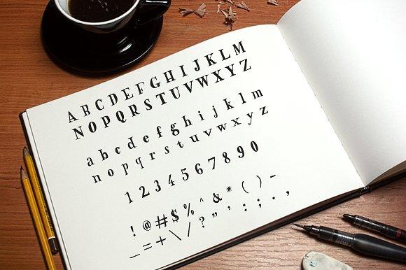 Westlake Hand Drawn Font