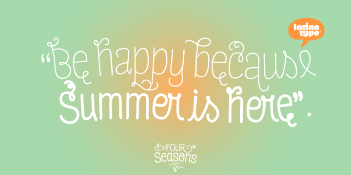 Four Seasons Font Family
