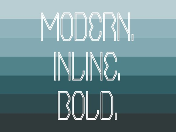AE Incline - Display Typeface