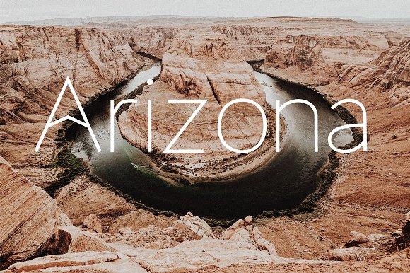 Arizona, a modern sans serif