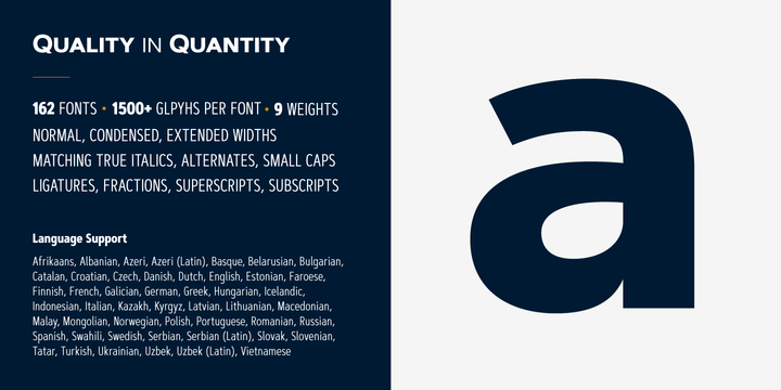 Artegra Sans Font Family