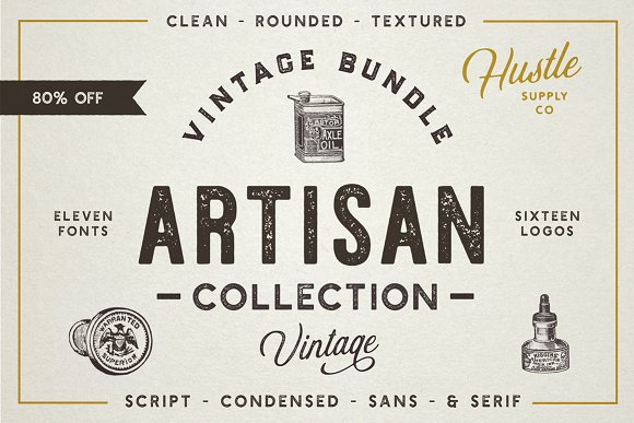 The Artisan Collection Font Bundle Ifonts Xyz
