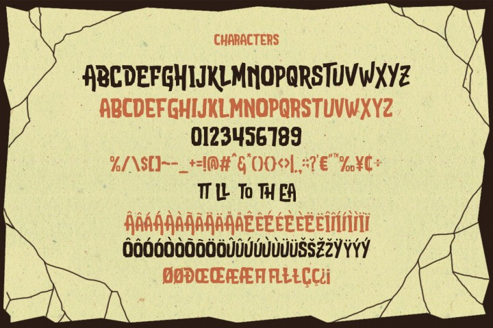 Attack-Attack Typeface