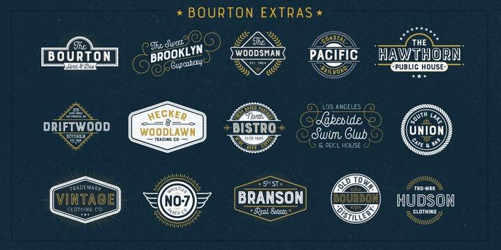 Bourton Font Family - iFonts xyz