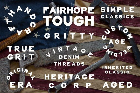 Fairhope Sans Serif Font