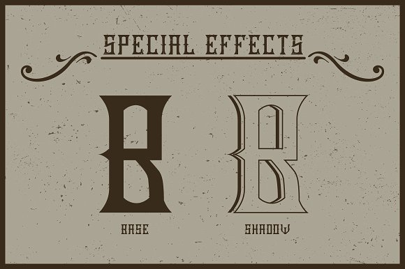 Handcrafted Old Cask label font