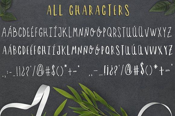 Letras feas - handmade font duo!
