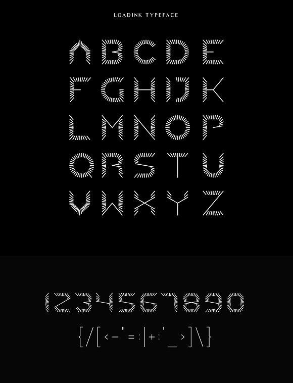 LOADINK Typeface