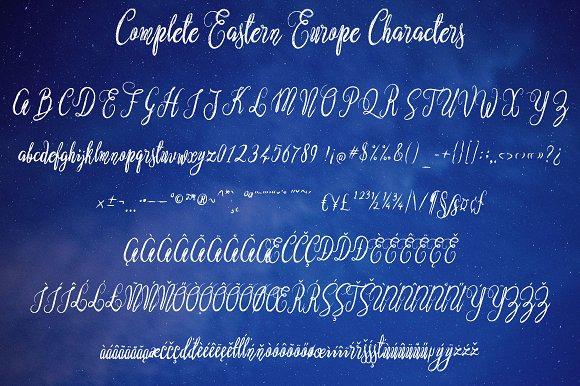 Nostar Script Font