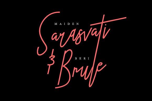Sbastian Signature Clean Typeface